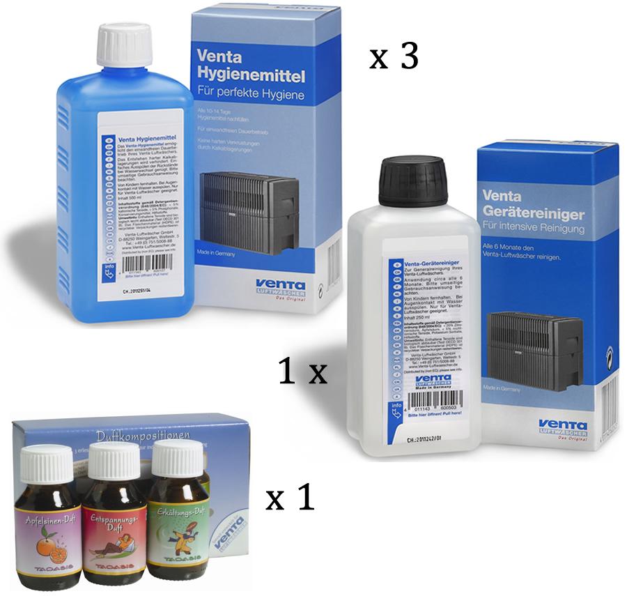Venta Zubehör-Set (3 Hygienemittel 1 Reiniger 1 Duftkompositionen)