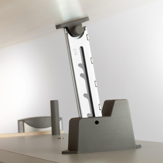 Moll Schreibtisch Bandit Weiß Inkl Riesenschublade Und Buchstütze
