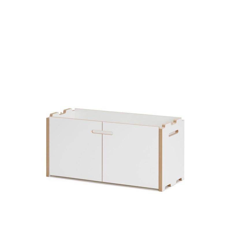 h 35,2 cm Tojo hochstapler Anbauelement Regalsystem weiß 76 x 32 cm